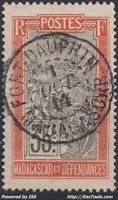 MADAGASCAR N° 103 AVEC CACHET DE FORT DAUPHIN DU 01/10/1914 A VOIR