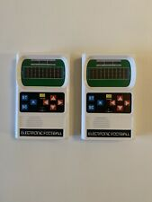 2 Vintage Mattel Handheld Electronic Football Games In Great Working Condition.
