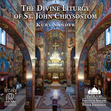 Kurt Sander Divine Liturgy of St. John Chrysostom 2HDCD
