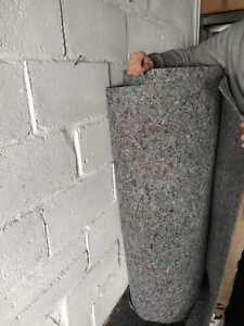 Camper van 5Mx0,60M  felt insulation lining soundproof carpet motorhome