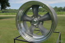 "15x4"" AMERICAN RACING TORQ THRUST D VN215  CHEVY GM BUICK OLDS 5 ON 4.75 BP GREY"