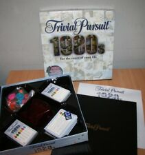 Trivial Pursuit 1980's Trivia Quiz Board Game Cards Part Sealed