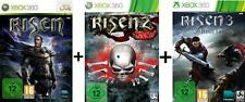 Xbox 360 Risen 1 + 2 + 3 Deutsch Top Zustand