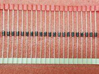 30X GI RGP10M 1A, 1000V, SILICON, SIGNAL DIODE, DO-204