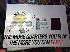 hop a tic-tac-toe arcade display marquee