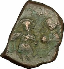 Heraclius & Heraclius Constantine 610AD Medieval Ancient Byzantine Coin i40117