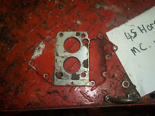 McCullough 45 boat motor1826 intake plate I have more parts for this motor