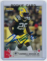 2019 PACKERS Darnell Savage signed ROOKIE card Panini Instant #22 AUTO RC 1/240