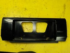 86-89 Toyota Celica Trunk License Plate Center Garnish Black Finisher Panel Trim