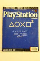Official U.S. PlayStation Magazine November 2000, Issue 38 (Play Station) Single