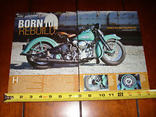 1941 HARLEY DAVIDSON KNUCKLEHEAD - ORIGINAL 2011 ARTICLE