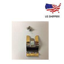 VICTORY MH-2 CB RADIO 3-FINGER CHROME STEEL HAND MICROPHONE HOLDER HANGER CLIP