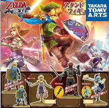 Legend Zelda Hyrule Warriors Tomy Game Figure Capsule Set Link Ganondorf Lana