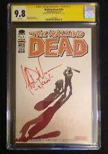 """Walking Dead #103 CGC 9.8 SS Jeffrey Dean Morgan  """"-Negan-"""" Image Comics, AMC"""