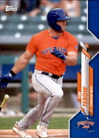2020 Topps Pro Debut TIM TEBOW Blue Border Parallel /150 Mets #PD-47