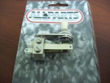 NEW - Switchcraft Right Angle Toggle Switch, Cream Knob