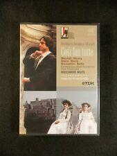 Wolgang Amadeus Mozart - Cosi Fan Tutte (DVD, 2006, 2-Disc Set) BRAND NEW!