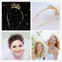 Bride Bridesmaid Tiara Crown Bachelorette Hen Party Bride To Be Wedding Gift
