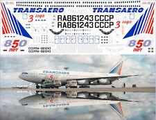 1/144 PAS-DECALS.laser decal IL-86 ZVEZDA