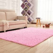 Modern Fluffy Area Rug Living Room Bedroom Carpet Ultra Soft Shaggy Decorate Mat