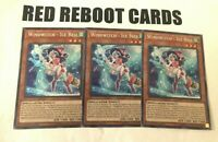 3x Windwitch Ice Bell Secret Rare SHVA 1st ed