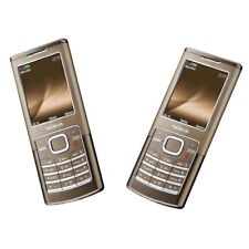 Gold Original 6500C Nokia 6500C 3G Network Phone 2MP MP3 Bluetooth Unlocked