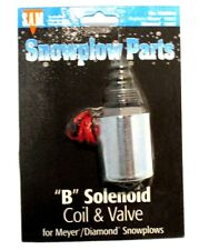 """""""B"""" Solenoid coil and valve, Snow Plow, Meyer 15357, part #1306040"""