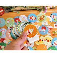 40X Christamas XMAS Sticker DIY Craft Scrapbook Diary Gift Wrap Card Seal Label