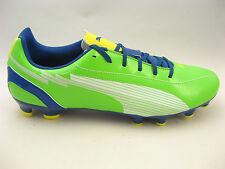 PUMA Mens evoSPEED 5 FG Soccer Cleats Size 11 Green White Blue Yellow #102586