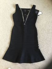 Herve Leger black dress M, UK 10, 12, BNWT, RRP 1591 £