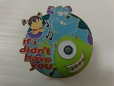 Vintage Disney Official Pin Trading Pin # 89D * If I Didn'T Have You *