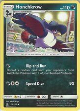 Pokemon SM Ultra Prism Card: Honchkrow - 72/156