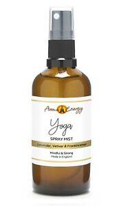YOGA Essential Oil Room Spray Spritz Mist Fragrance Freshener Meditation