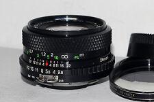 Soligor C/D Wide-Auto MC 28mm f/2.8 AIS Nikon Mount Lens in Excellent Condition