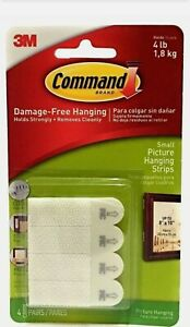 3M Command Strips Damage Free Self Adhesive Wall Hanging Picture Frames Posters™