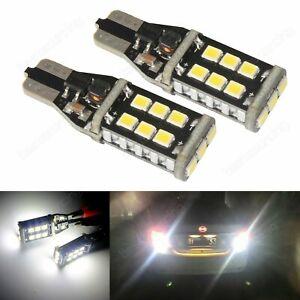 2x Canbus W16W 921 T15 Auto Rückfahrlicht Rücklicht Tagfahrlicht Lampe Birne 8W