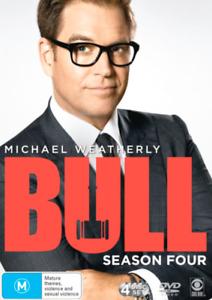 BULL - SEASON 4 (DVD, 4-Disc) BRAND NEW / SEALED - MICHAEL WEATHERLY