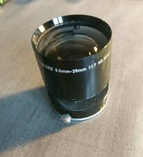 Canon Wide Converter EEE Lens 6.5 to 26mm 1:1.7 No. 30341