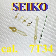 sfere lancette seiko sport 150 cal. 7t34 chronograph CLOCK hands aiguille index