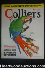 Collier's Aug 20, 1938 Wildlife; Wormser, Oppenheim, Chesterfield; Coca-Cola - H