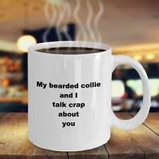 New ListingBearded Collie Mug Ceramic Coffee Cup Dog Lover