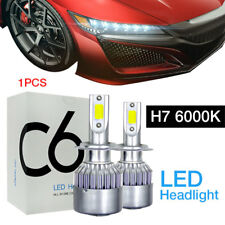 1PC Car 72w COB LED Headlight Kit Bulbs Light 6000k White H7 Fit BENZ Cla250