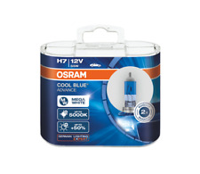 2x HALOGEN BULBS OSRAM COOL BLUE © ADVANCE H7 55W 12V 5000K XENON EFFECT HYPER +