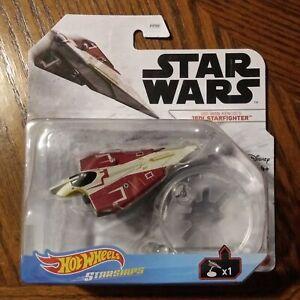 Obi-Wan Kenobi's Jedi Starfighter - Star Wars Starships - Hot Wheels (2021)