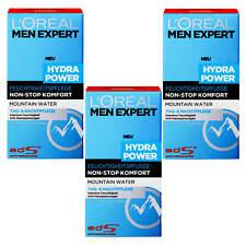 (18,04€/100ml) 3x50ml Loreal Men Expert Hydra Power Feuchtigkeitspflege Mountain