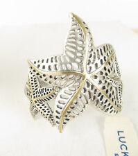 NWT Lucky Brand Two-Tone Triple Starfish Cuff Bracelet  $45