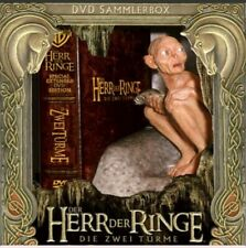 ZWEI TURME HERR DER RINGE SMEAGOL DVD COLLECTOR EDITION TWO TOWERS LORD RINGS