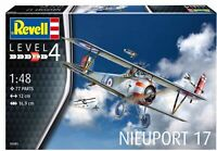 MODEL AIRCRAFT REVELL Nieuport 17 Biplane 1:48 SCALE NEW