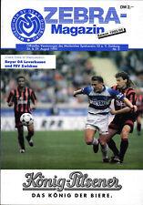 DFB-Pokal 95/96 MSV Duisburg - Bayer 04 Leverkusen / FSV Zwickau (BL)