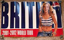 Britney Spears Pepsi World Tour 2001-2002 Original Poster Unused 22x36 Promo